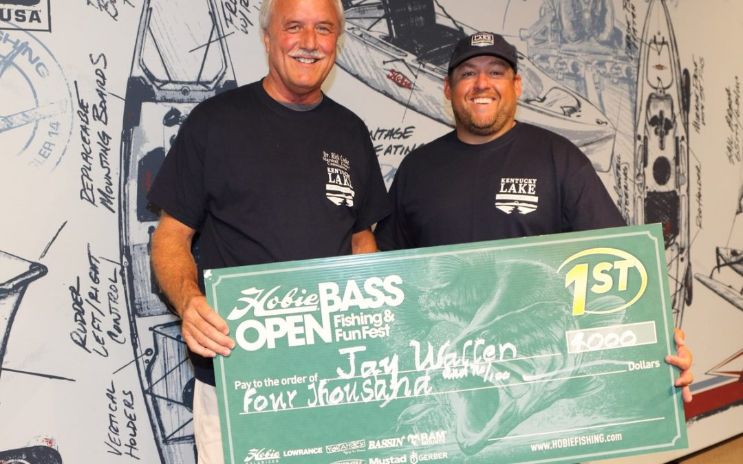 Hobie Bass Open Champ Jay Wallen Breaks Down Kentucky Lake