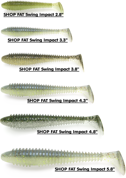 KeitechUSA.com fat impact swimbait